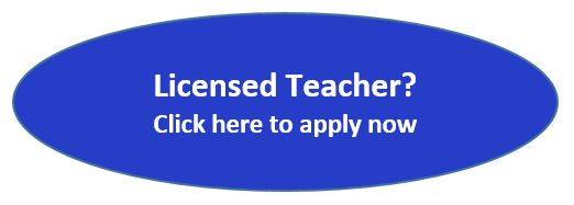Licensed Teacher? Click here to apply now