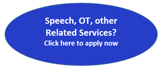 Speech, OT, other Related Services? Click here to apply now